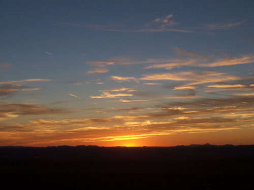 You Can Always Expect a Beautiful Sunset in Las Cruces, New Mexico!