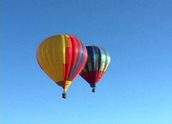Balloonists Participate in the Mesilla Valley Balloon Rally in Las Cruces, New Mexico