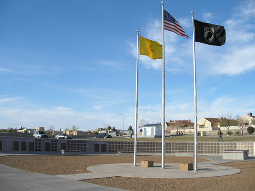 Veterans' Park in Las Cruces, New Mexico