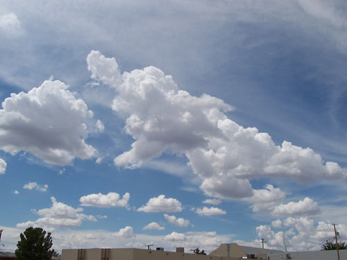 Clouds Over Las Cruces, New Mexico